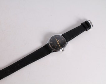 Vintage Old Swiss Made Atlantic Worldmaster Big Men's Wrist Watch. 21 Jewels.