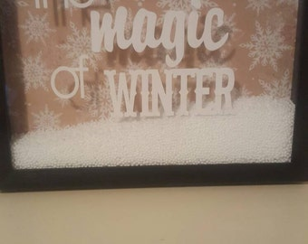 The Magic of Winter Shadow Box