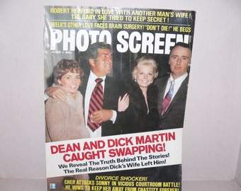 July 1974 Issue of Photo Screen