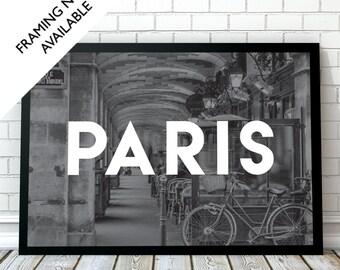 PARIS Travel Wall Art Print | A4/A3/A2