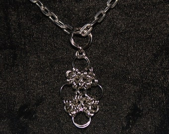 Japanese 12 - 2 Chainmaille Necklace
