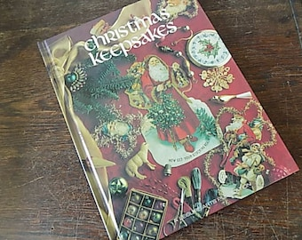 Vintage Cross Stitch Book - Altered Art Christmas - Victorian Inspired Xmas