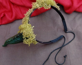 Moss Demon Horns