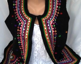 woolen vest