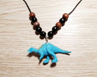 10 Kits - Dinosaurs Necklaces DIY Party Favors