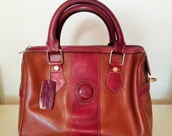 Genuine Andantini All Leather Handbag/Moda Italiana