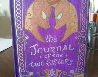 The Journal of the Two Sisters, blank book