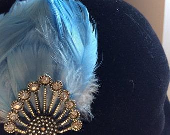 Something Blue - #27 Hairband