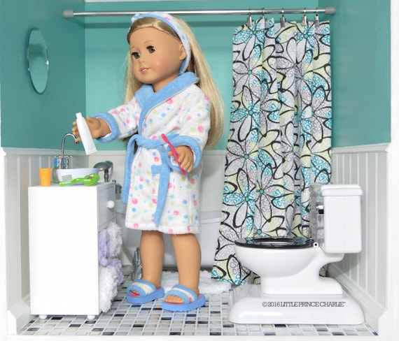 American Girl 18 Inch Doll Sink Vanity for Your Dollhouse