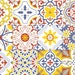 """Vinyl decal self-adhesive Portuguese sticker Tiles SINTRA Mix Collection (Pack of 12) (6""""x6""""
