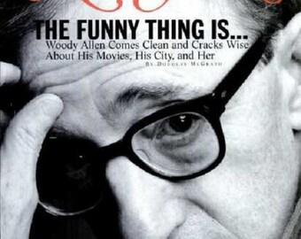 """New York """"Woody Allen"""" Magazine [ 10-17-1994 issue ]"""