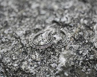 Earrings tribal Hippie chic