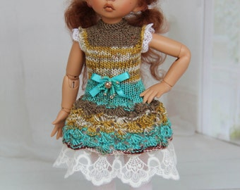 Knitted dress for BJD dolls - LittleFee Fairyland
