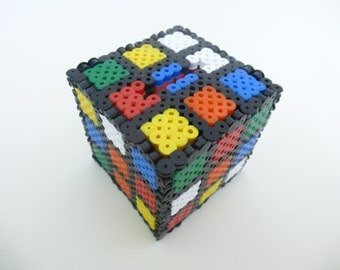 Rubix Cube Money Box, Cute Money Box, Game Money Box, Geeky Money Box, Pixel Money Box, Pixel Art