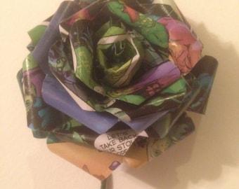 Green Lantern Corsage/Boutennaire
