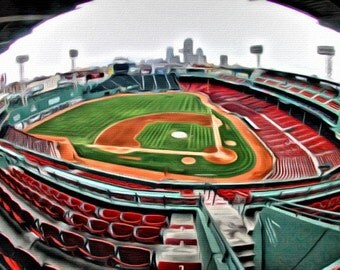 Fenway Park - Print or Canvas