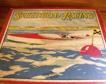 Speed Boat Race Board Game Glevum Games