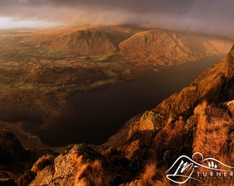 Wast Water from Whin Rigg  --  Landscape Photography by M J Turner