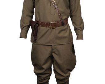 Soviet RKKA Infantry Officers Red Army Uniform WWII Full set
