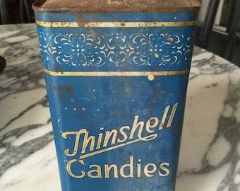Antique Tin Container
