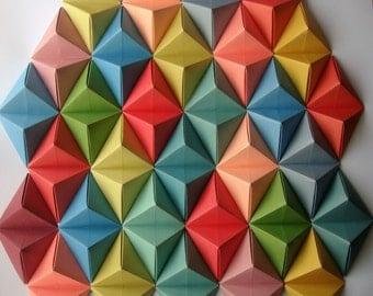 Large Origami Wall Art