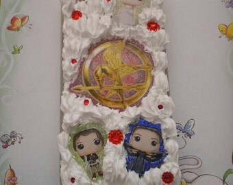 Silicone case for IPhone 5/5s Hunger Games theme