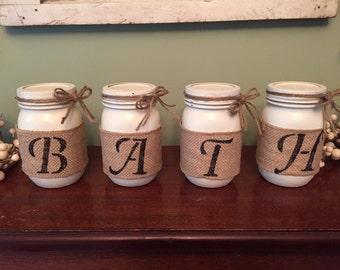 Bath mason jar