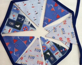 8 flag bunting Made to Order