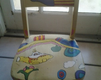 Yellow Submarine Chair