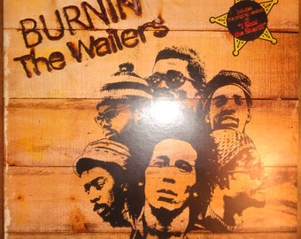 The Wailers (with Bob Marley) - Burnin' ILPS-9256 Vinyl Record LP 1973