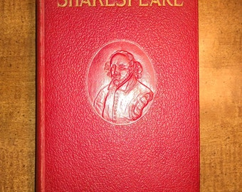 1911 The Complete Works of William Shakespeare Antique Book