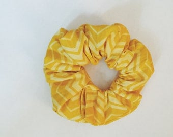 Yellow Scrunchy
