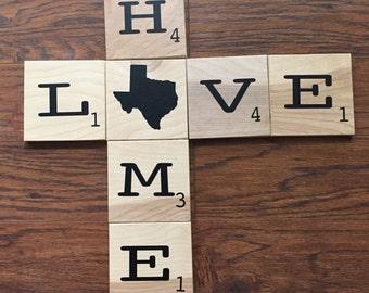 Large Scrabble Tiles Wall Decor; Scrabble Tiles; Gallery Wall; Scrabble Sign;Customized Scrabble;