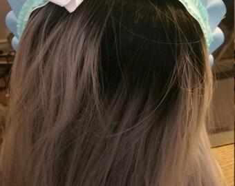 Maid style headband