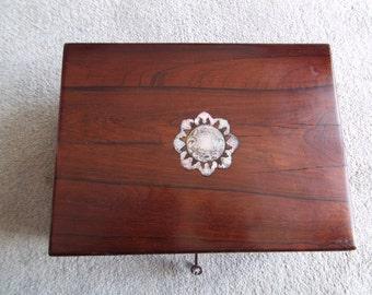 Rosewood Victorian Box