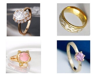 Gold filled fashion rings.. Free gift box included.