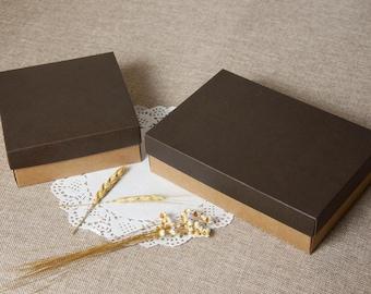 Gift boxes Wallet box Belt boxes, kraft paper belt boxes 20 pcs