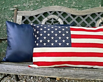 American Flag Pillow.