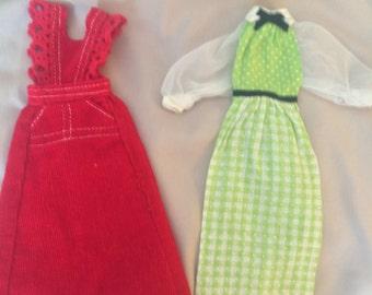Vintage Barbie Dresses