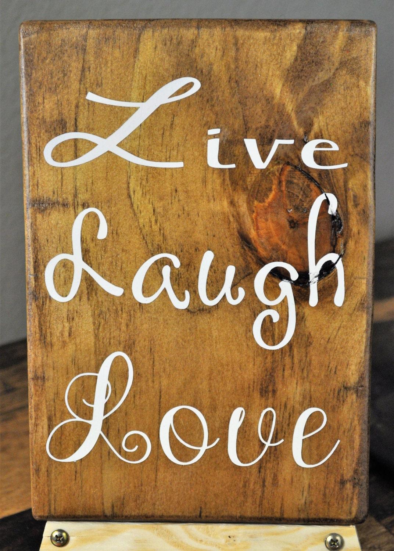 Live Laugh Love Home Decor Pallet Sign