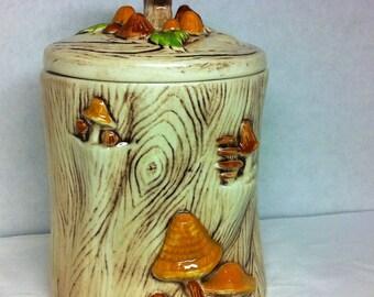 Vintage Treasure Craft Cookie Jar