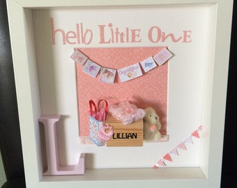 Hello Little One New Baby Frame