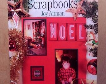 Making Christmas Scrapbooks  Joy Aitman  BOOK