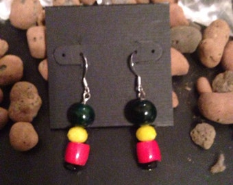Rasta Love Earrings
