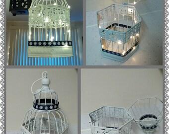 Nautical Themed Wedding Birdcage, Card Box, Decoration, Wishes Holder, Decorative Birdcage, Envelope Cage