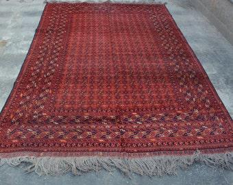 Beautiful Afghan Bashiri Rug 9'6 x 6'4