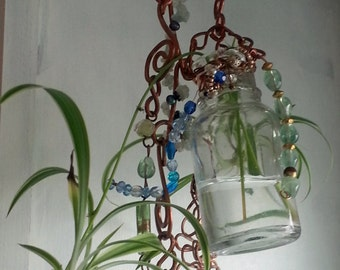 Copper Sun-catcher with Rooter
