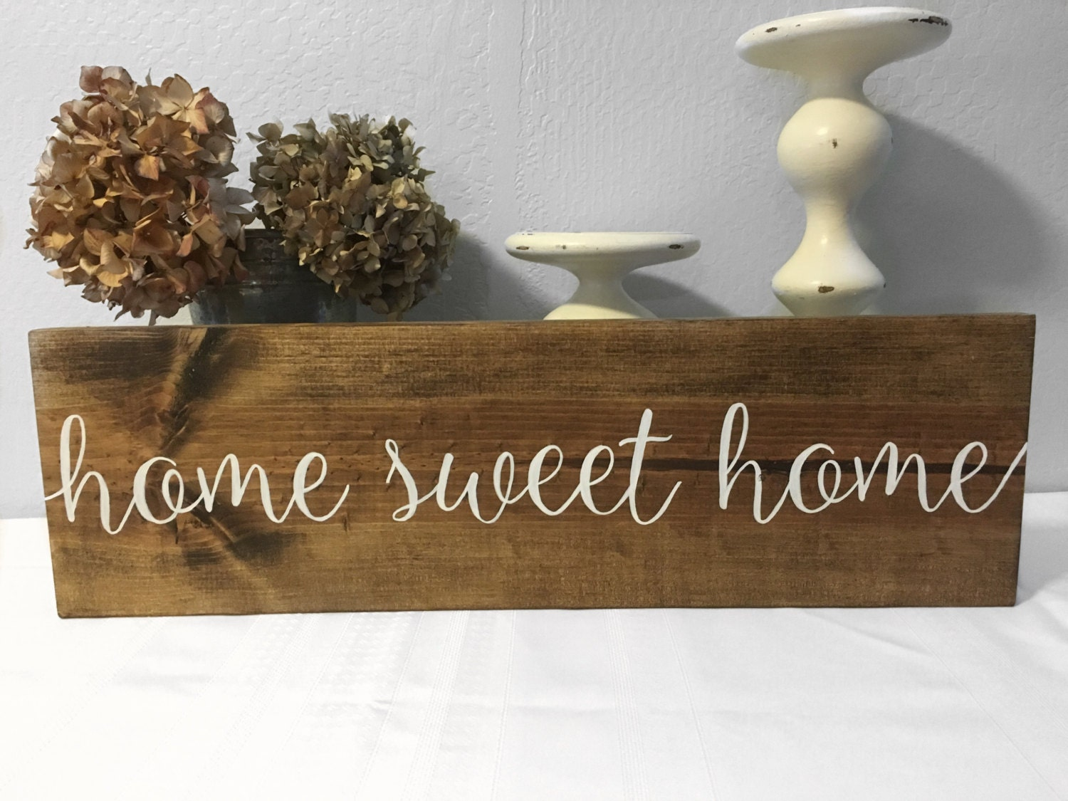 Home Sweet Home Sign Home Decor Wood Sign Home Sweet