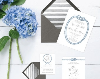 The Karen Suite - Printable Wedding Invitation Set