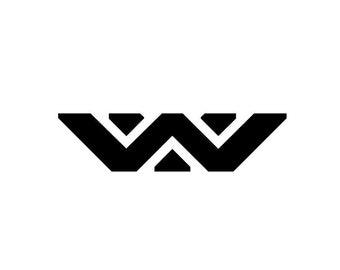 Weyland-Yutani Corporation Logo Vinyl Bumper Stickers. Works on car windows, bumpers, cell phones, laptops, walls, etc. Nerd Humor. Aliens